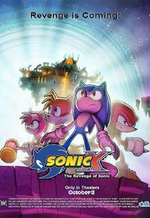 Sonic X The Revenge of Sonic logo