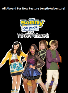 Sonny On Deck With Best Friends Forever DVD Cover