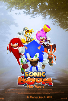 Sonic Boom The Movie Theatrical Poster