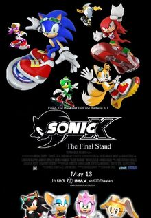 Sonic X The Final Stand theatrical poster 2