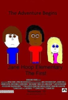 Jane Hoop Elementary The First poster