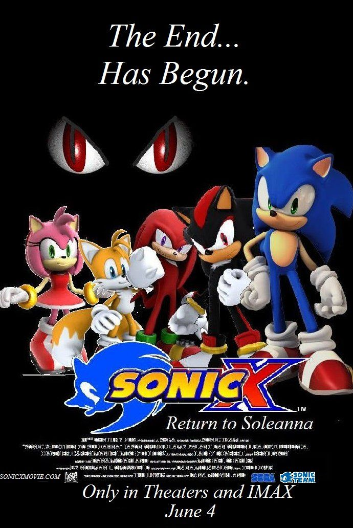 Image Sonic X Return To Soleanna Theatrical Posterjpg Ceauntay