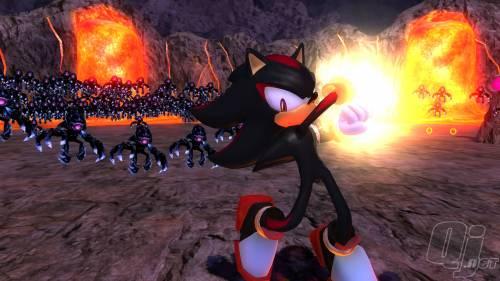 image shadow the hedgehog chaos blast screenshotjpg