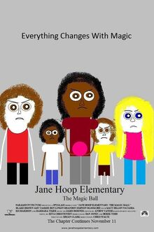 Jane Hoop Elementary The Magic Ball theatrical poster