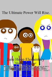 Jane Hoop Elementary Morphin the Power theatrical poster 2