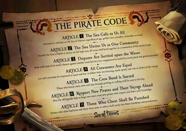 Sea of Thieves code of conduct