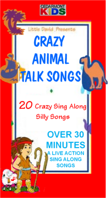 Crazy Animal Talk Songs VHS