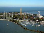 Cedar Point Aerial View