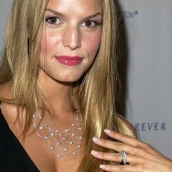 Jessica Simpson wedding ring