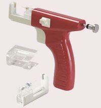 Spring gun with cartridge