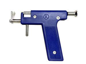 Blue Piercing Gun