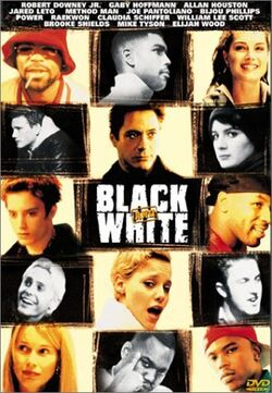 Black and White DVD cover