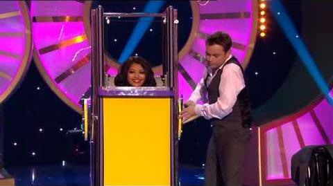 Vanessa White (The Saturdays) - Magic Clip (Magic Numbers - 7th August 2010)-0