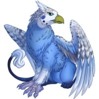 Blue Budgie Gryphon