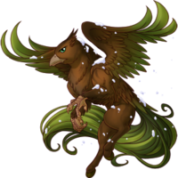 Evergreen Hippogryph