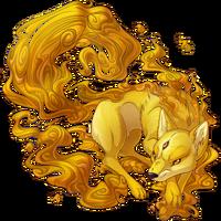 Molten Gold Kitsune