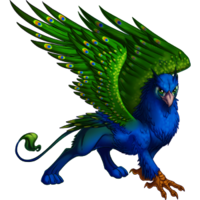 Peacock gryphon 1