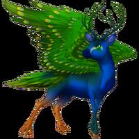Peacock Peryton