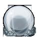 Metal orb