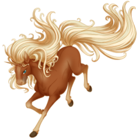 Flaxen Chestnut Unicorn