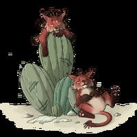 Chillaxin CactusCat