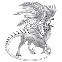 White Shadow Dragon