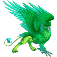 Emerald Chimes Gryphon