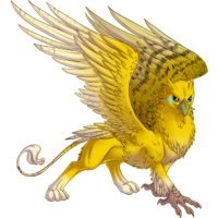 Yellow Budgie Gryphon
