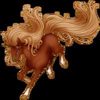 Red Chestnut Unicorn