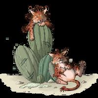 Afternoon Nap CactusCat
