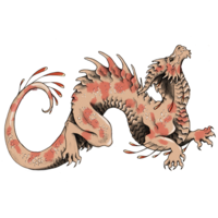 Sanguine Moon Dragon