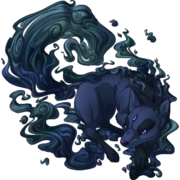 Deep Umbra Kitsune