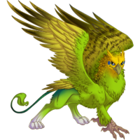 Green Budgie Gryphon