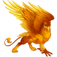 Speckled Magma Gryphon