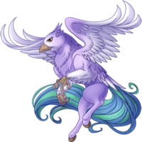 Wisteria Hippogryph
