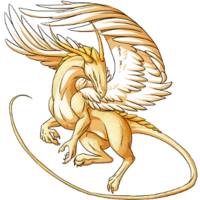 Golden Light Dragon