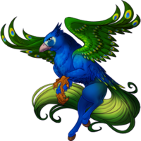Peacock Hippogryph