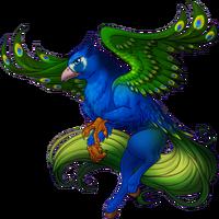 Peacock Hippogryph