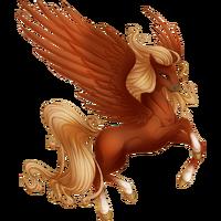 Red Chestnut Pegasus