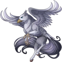 Silver Hippogryph