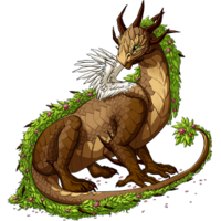 Spring Flower Dragon