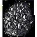 Black geode
