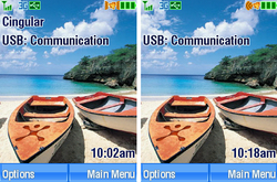 Motorola V3xx Main Display
