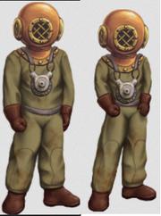 Full scuba costume