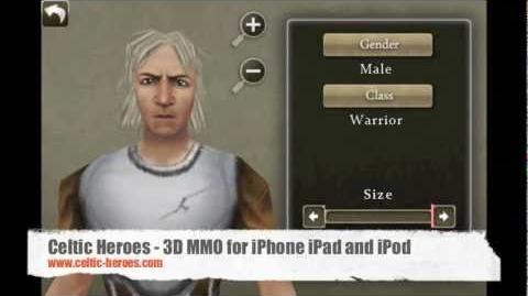 Celtic Heroes Free 3D MMO for iPhone iPad and iPod