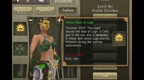 Celtic Heroes Complete Masks of Lugh Collection