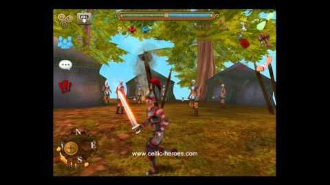 Celtic Heroes free 3D MMO for iPhone, iPad and iPod. Preview of update 3 starting area.
