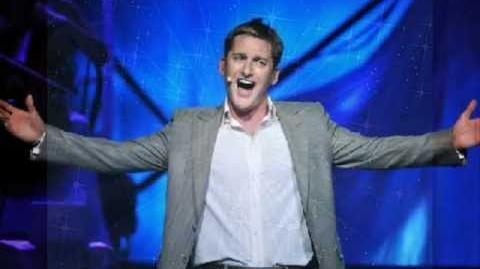 """Paul Byrom Sings """"This is the Moment"""""""