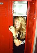 Hiding in the locker