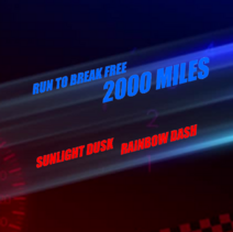 Run To Break Free 2,000 Miles